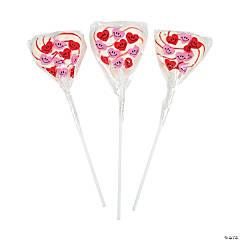 Heart-Shaped Swirl Pops