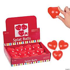 Heart Splat Balls