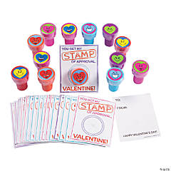 "Heart Stampers with ""Stamp of Approval"" Valentine's Day Card"