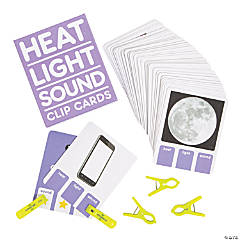 Heat, Light & Sound Clip Cards