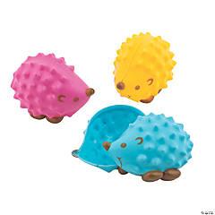 Hedgehog Plastic Easter Eggs