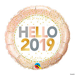 Hello 2019 Mylar Balloon