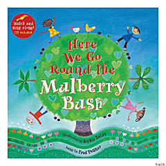 Here We Go Round the Mulberry Bush - Paperback w/CD, Qty 3