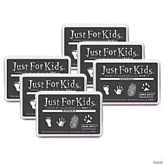 Hero Arts® Just for Kids® Washable Ink Pad, Black, Pack of 6