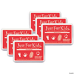 Hero Arts® Just for Kids® Washable Ink Pad, Red, Pack of 6