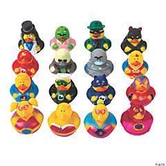 Heroes & Villains Rubber Duckies Assortment