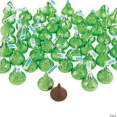 Hershey's® Kisses® 400 Pc. Light Green Chocolate Candy