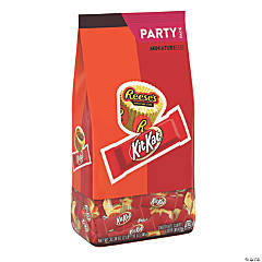 Hershey's<sup>®</sup> Reese's<sup>®</sup> Peanut Butter Cups & KitKat<sup>®</sup> Chocolate Candy Assortment - 128 Pc.