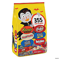 Hershey's<sup>®</sup> 400-Pc. Halloween Chocolate & Sweets Snack-Size Candy Assortment