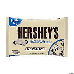 HERSHEY'S Snack Size Cookies 'n' Creme Bars, 17.1 oz, 2 Pack