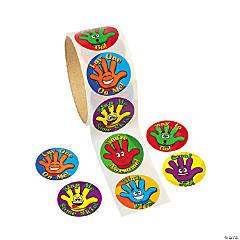 """High Five!"" Sticker Rolls"
