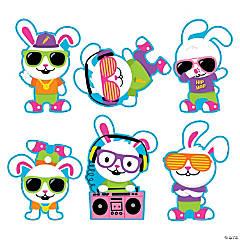 Hip Hop Bunny Cutouts