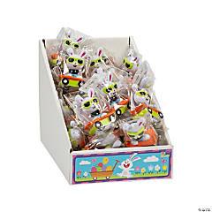 Hip Hop Bunny Pull-Back Toys PDQ