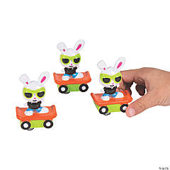 Hip Hop Bunny Pull-Back Toys