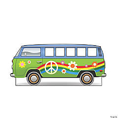 Hippie Bus Cardboard Stand-In Stand-Up