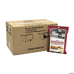 HK ANDERSON Peanut Butter Filled Pretzel Nuggets, 5 oz, 12 Count