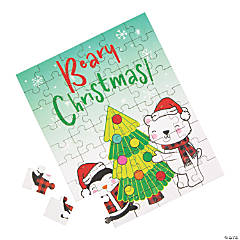 Holiday Beary Christmas Jigsaw Puzzles
