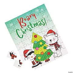 Holiday Beary Christmas Jigsaw Puzzles