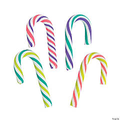 Holiday Brights Mini Candy Canes