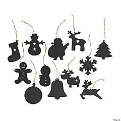 Holiday Chalkboard Ornaments