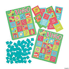 Holiday Dino Bingo Game