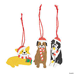 Holiday Dog Ornaments