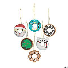 Holiday Donut Ornaments