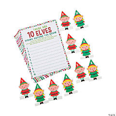 Holiday Find the Elf Game