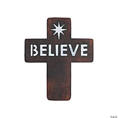 Holiday Handicraft Believe Sign