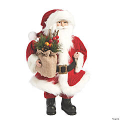 Holiday Handicraft Crafty Tabletop Santa