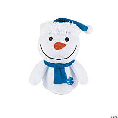 Holiday Plush Snowmen