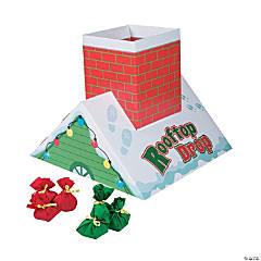 Holiday Rooftop Drop Bean Bag Toss Game