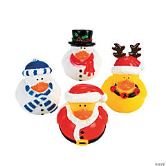 Holiday Rubber Duckies PDQ