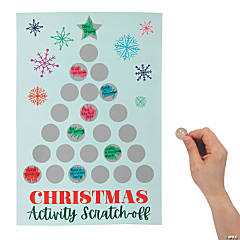 Holiday Scratch 'N Reveal Advent Calendar