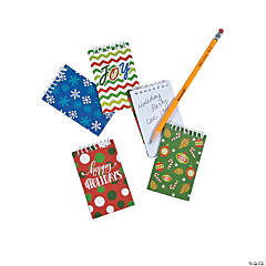 Holiday Spiral Notepads