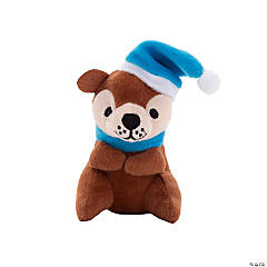 Holiday Stuffed Otters