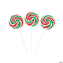Holiday Swirl Lollipops