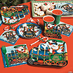 Holiday Train Party Supplies