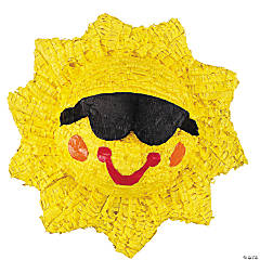 Hollow Sunshine Smile Piñata