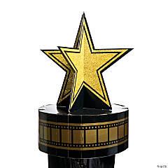 Hollywood Star Column Topper