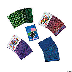 Holographic Playing Cards