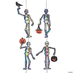 Holographic Skeleton Hanging Decorations