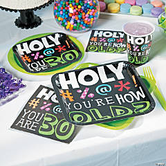 Holy Beep 30th Birthday Party Supplies