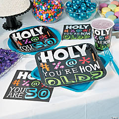 Holy Beep 50th Birthday Party Supplies