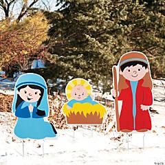 Holy Family Nativity Yard Signs