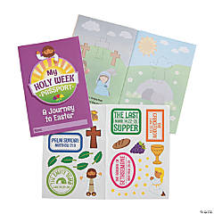 Holy Week Passport Sticker Books