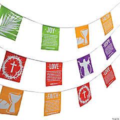Holy Week Pennant Banner