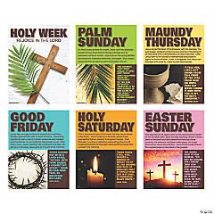 Holy Week Poster Set