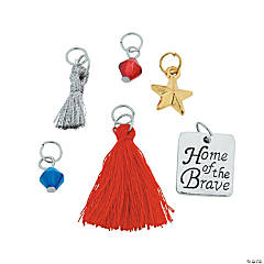 Home of the Brave Charms Assortment