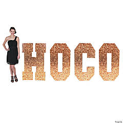 Homecoming HOCO Letter Stand-Up Sign
